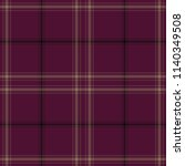 tartan traditional checkered... | Shutterstock .eps vector #1140349508