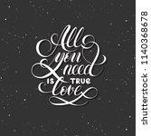 quote lettering  inscription ...   Shutterstock .eps vector #1140368678