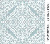 orient vector classic pattern....   Shutterstock .eps vector #1140371408