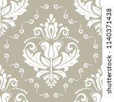 classic seamless vector beije...   Shutterstock .eps vector #1140371438