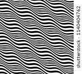 3d wavy background. dynamic... | Shutterstock .eps vector #1140404762