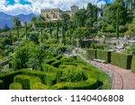 botanic garden of... | Shutterstock . vector #1140406808