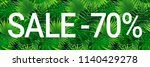 sale banner with text. seasonal ...   Shutterstock .eps vector #1140429278