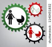 family sign illustration.... | Shutterstock .eps vector #1140451832