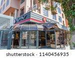 marrakech  morocco   june 5 ... | Shutterstock . vector #1140456935