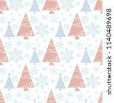 snowflake winter christmas tree ...   Shutterstock .eps vector #1140489698