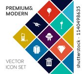 modern  simple vector icon set... | Shutterstock .eps vector #1140498635