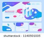 high technology concept. big... | Shutterstock .eps vector #1140501035