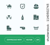 modern  simple vector icon set... | Shutterstock .eps vector #1140502745