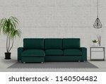 interior design for living area ... | Shutterstock . vector #1140504482