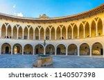 palma de mallorca  spain  may... | Shutterstock . vector #1140507398