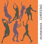 basketball star | Shutterstock .eps vector #114051562