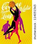 basketball star | Shutterstock .eps vector #114051565