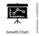 a board having line graph... | Shutterstock .eps vector #1140535142