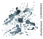 paint stains grunge background... | Shutterstock .eps vector #1140540032