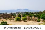 view of the tunis from the... | Shutterstock . vector #1140569378
