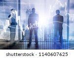 forex trading  financial market ... | Shutterstock . vector #1140607625
