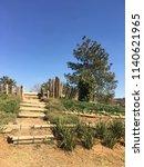 neglected natural stairway   Shutterstock . vector #1140621965