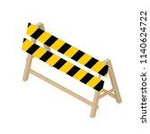 isometric transport icon road... | Shutterstock .eps vector #1140624722