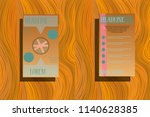 business brochure flyer design...   Shutterstock .eps vector #1140628385