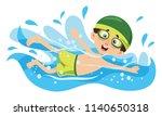 vector illustration of kid... | Shutterstock .eps vector #1140650318