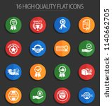 quality web icons for user... | Shutterstock .eps vector #1140662705
