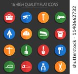 work tools vector icons for web ... | Shutterstock .eps vector #1140662732