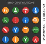 work tools vector icons for web ... | Shutterstock .eps vector #1140662735
