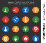 trees measuring tools web icons ... | Shutterstock .eps vector #1140662768