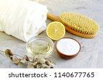 natural ingredients for...   Shutterstock . vector #1140677765