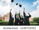 we've finally graduated... | Shutterstock . vector #1140715352