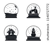 snow globe ball christmas...