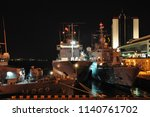 the nato squadron arrived in... | Shutterstock . vector #1140761702