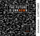 the future is now typographic t ... | Shutterstock .eps vector #1140776885