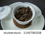 china all kinds of tea | Shutterstock . vector #1140780338