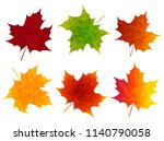 autumn leaves fall icon | Shutterstock .eps vector #1140790058
