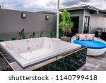 hotei hotel  chiangmai ... | Shutterstock . vector #1140799418