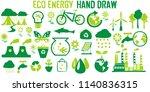 environment ecology nature hand ... | Shutterstock .eps vector #1140836315