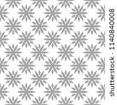 light gray floral ornament on... | Shutterstock .eps vector #1140840008