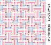 abstract color seamless pattern ... | Shutterstock . vector #1140869435