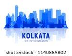kolkata   calcuta   india... | Shutterstock .eps vector #1140889802