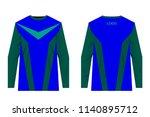 design for sublimation print.... | Shutterstock .eps vector #1140895712