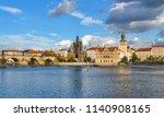 prague  czech republic  ... | Shutterstock . vector #1140908165