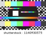 abstract glitch or design... | Shutterstock .eps vector #1140930575