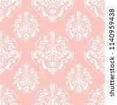 orient vector classic pattern....   Shutterstock .eps vector #1140959438