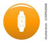 wristwatch wood icon. simple...   Shutterstock . vector #1140963068