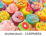 Many Sweet Birthday Cupcakes...