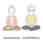 vector illustration character... | Shutterstock .eps vector #1140998912