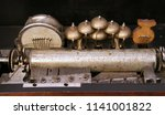 obsolete antique sound output... | Shutterstock . vector #1141001822