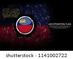 background halftone gradient...   Shutterstock .eps vector #1141002722